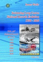 Swimming Long Course National Records Evolution 1956 - 2020